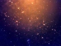 Starry Night Sky Scene Royalty Free Stock Photo