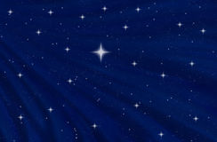 Starry night sky or space Stock Photography