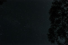 Starry Night Yanartas. stock photo