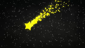 Starry nigt, astronomy, planets, blinking, calm, meteor. Starry nigt, astronomy, planets, blinking, calm, meteor, Computer generated stock video