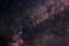 Starry outer space Stock Photos