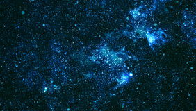 Starry outer space background texture .Deep space Stock Photos