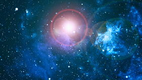 Starry outer space background texture .Deep space Stock Image