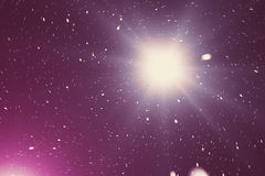 Starry outer space background texture with nebula. Colorful starry night sky outer space background. 3d rendering Stock Photo