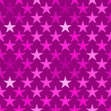 Starry seamless background pink stars Royalty Free Stock Photography