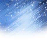 Starry sky vector illustration