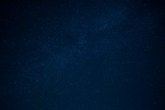 Starry sky Stock Images