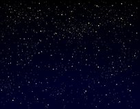 starry sky royaltyfri illustrationer