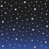 starry sky Arkivfoto