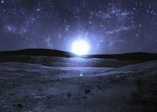 starry sky Royaltyfria Foton