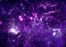 starry sky Royaltyfria Bilder