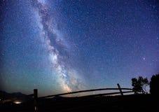 starry sky arkivbilder