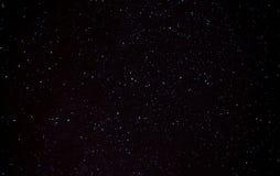 Starry sky above the city Stock Photography