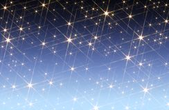 Starry sky background Royalty Free Stock Photo