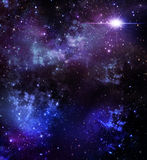 Starry sky, background Royalty Free Stock Photo
