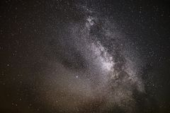 Starry Sky, Milky Way Royalty Free Stock Images
