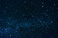 Starry sky. Dark Night Starry Sky Background Royalty Free Stock Photography