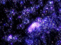 Starry sky infinite Universe, amazing and Royalty Free Stock Photo