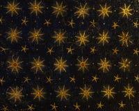 Starry sky mosaic Stock Photo