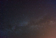 Starry sky. Starry night sky and milky way Royalty Free Stock Image