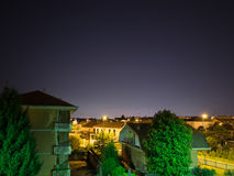 Starry sky in the night Stock Images