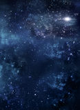 Starry sky in the open space Royalty Free Stock Images