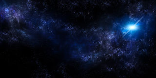 Starry sky, panoramic background Royalty Free Stock Images