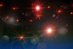 Starry sky, starry background Stock Photo