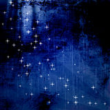 Starry sky, starry background Royalty Free Stock Photography