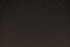 Starry sky, the stars in the night sky. The stars on a dark background Stock Images