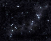 Starry sky texture Stock Image