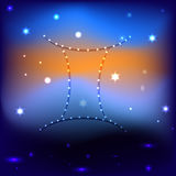 Starry sky vector EPS 10 royalty free stock photography