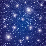 Starry sky. Royalty Free Stock Photo