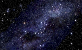 Starry space background Royalty Free Stock Images