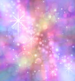 Starry Sparkling Bokeh background Royalty Free Stock Photography