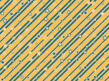Starry and striped background. Holiday and festive starry and striped background Royalty Free Stock Image