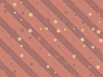 Starry and striped background Royalty Free Stock Images
