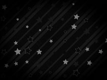 Starry and striped background Royalty Free Stock Photo