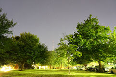 Starry Summer Night in Washington DC Royalty Free Stock Photos