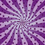 Starry Swirl Background. Vector File, change colors as you wish Royalty Free Stock Photos