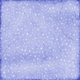 Starry Texture. A starry decorative blue background texture, could be used in scrapbooking Stock Image