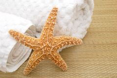 Starry towels Stock Photography
