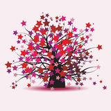 Starry tree Stock Photos