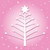 starry tree vektor illustrationer