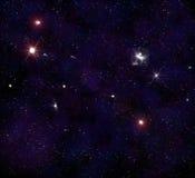 starry ytterkant avstånd för bakgrund Royaltyfri Bild