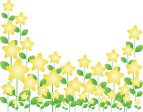 Stars a árvore ilustração stock