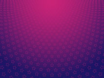 Stars. Vector Illustration - Background of Stars on a Gradient Background Royalty Free Stock Images