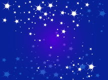 Stars. Cool detail of Vector background design shiny stars Royalty Free Stock Photo
