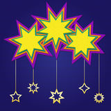 Stars. Design in high resolution created in Adobe Illustrator. Layered .eps file is included Royalty Free Stock Photos
