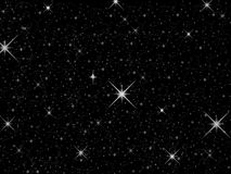 Stars. A graphic designed as stars in space Royalty Free Stock Image